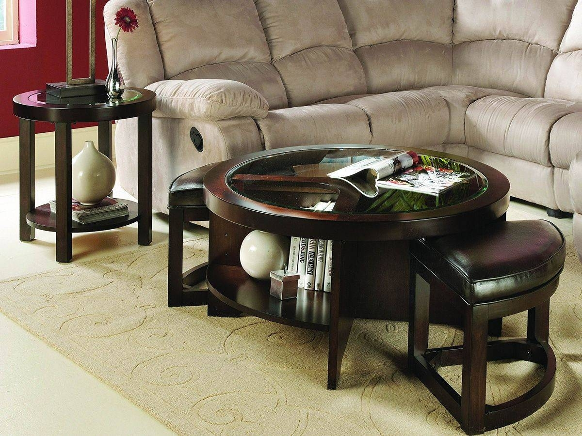 Center Table With Ottoman