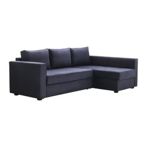 Chaise sofa bed with storage