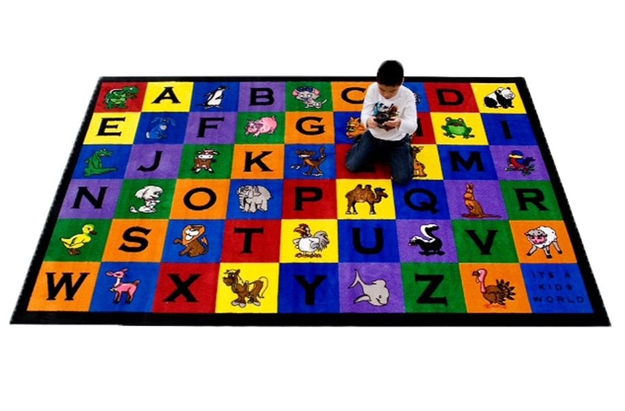 Charlie and Friends Kids Area Rug