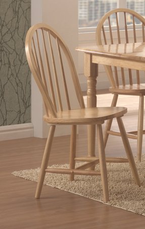 Coaster Home Furnishings Country Dining Chair, Natural, Set of 4