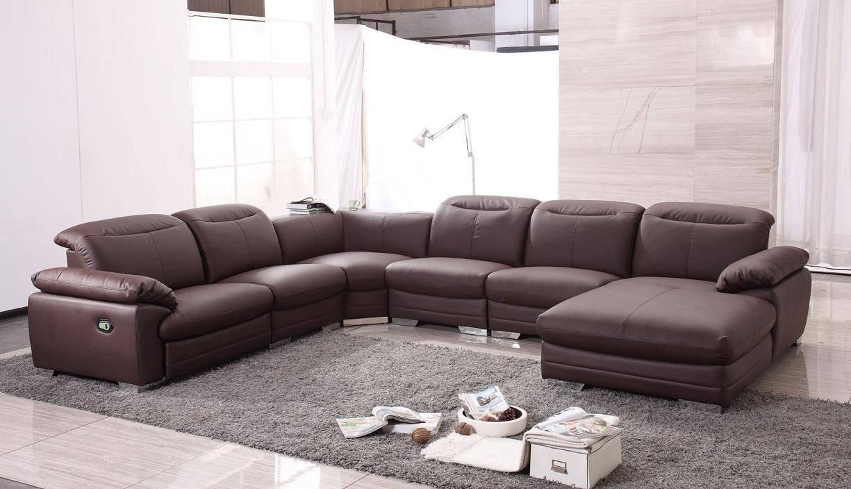 Contemporary Leather Recliner Sofa Design