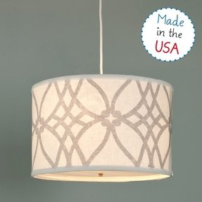Cream table lamp