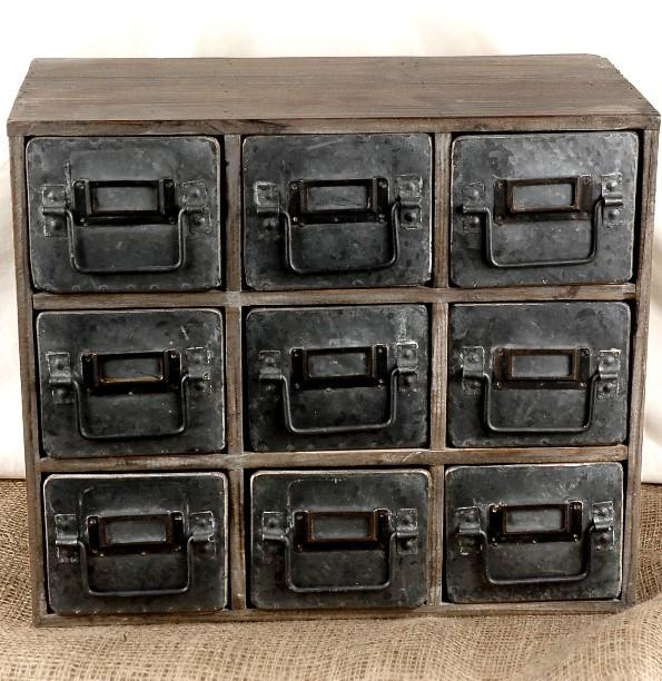 Great Decorative Metal Storage Bins 1