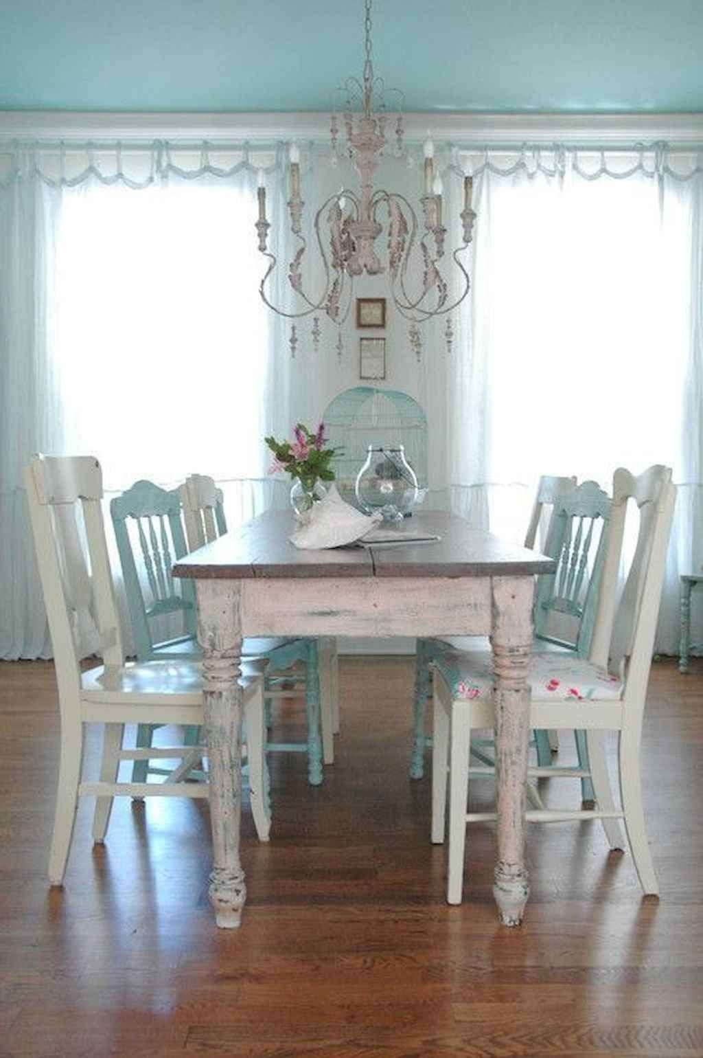 Wonderful Distressed Farmhouse Dining Table