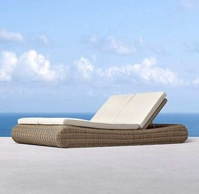 Double chaise cushion 19