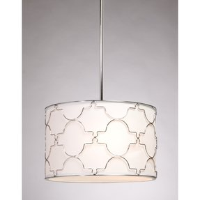 Drum pendant lighting 13
