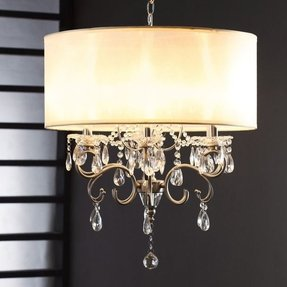 Drum pendant lighting 16