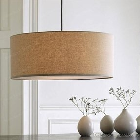 Drum pendant lighting 5