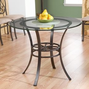 Glass Top Round Kitchen Table Sets Foter