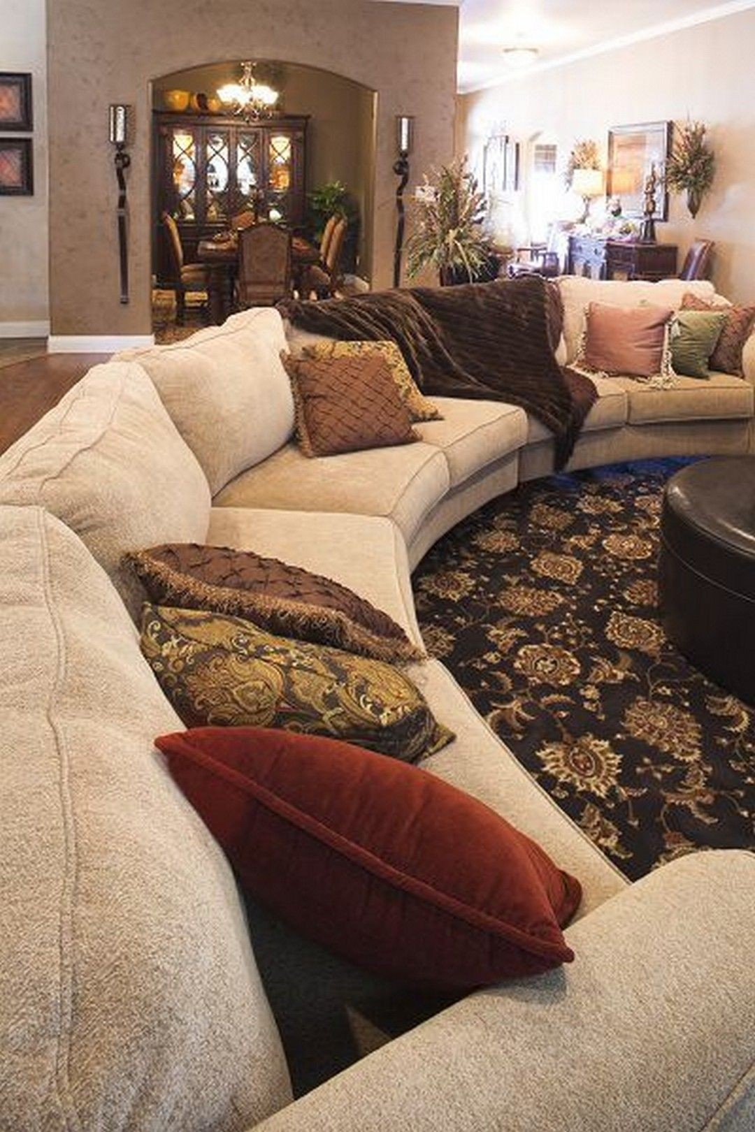 Half Circle Couch