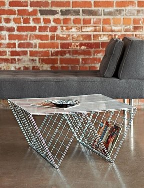 Industrial magazine rack 2