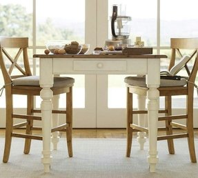 white counter height kitchen table foter. Black Bedroom Furniture Sets. Home Design Ideas