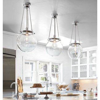 Large Globe Pendant Light Foter - Globe pendant lights over island