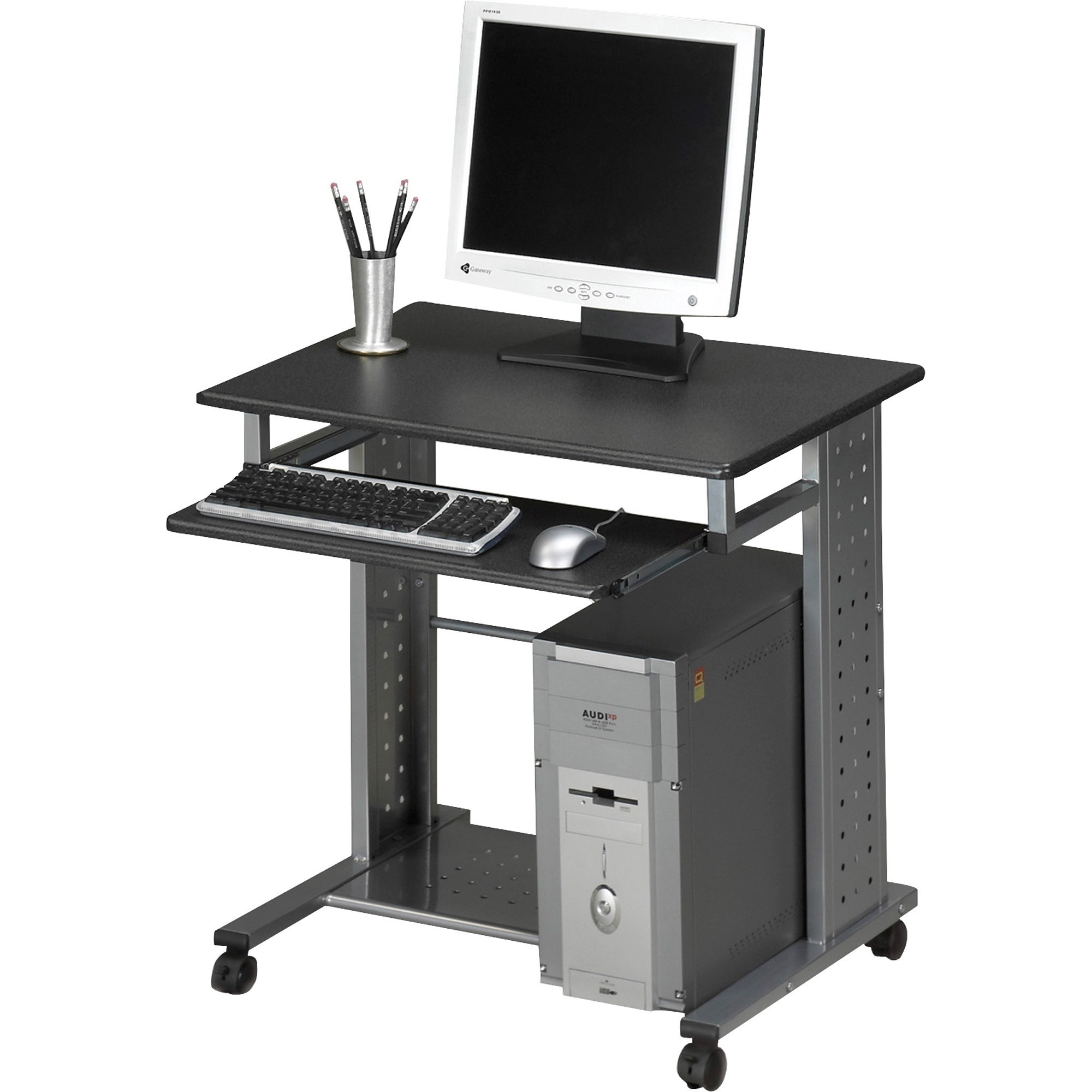 small computer table on wheels ideas on foter rh foter com computer desk on wheels argos computer desk on wheels with top shelf