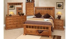 Oak bedroom furniture sets 1