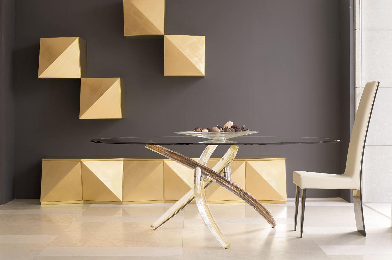 Glass Oval Dining Table 3. LaetitiaSmith1. 4. Pedestal Table Modern