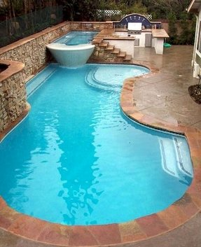 Pool With Hot Tub - Ideas on Foter