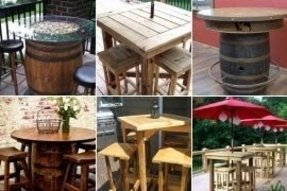 Pub table outdoor