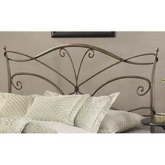 wrought iron headboards queen ideas on foter. Black Bedroom Furniture Sets. Home Design Ideas