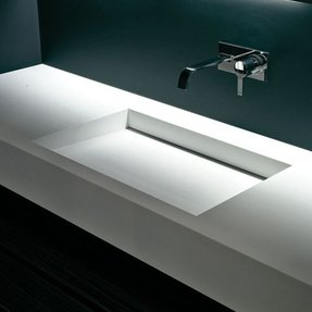 Rectangular bathroom sinks 5
