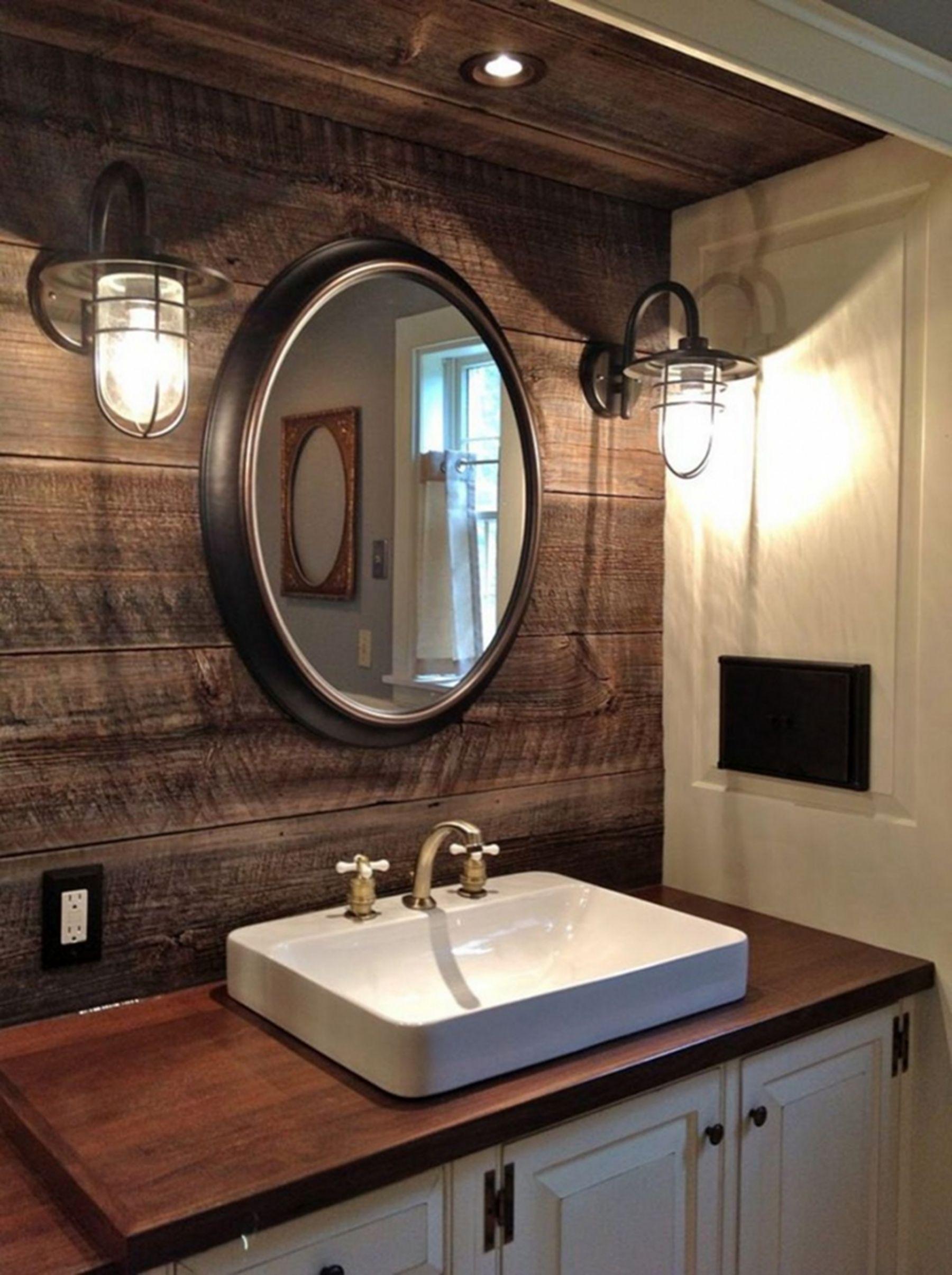 Genial Rustic Bathroom Vanities And Sinks