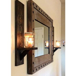 Rustic Wall Candle Holders - Ideas on Foter