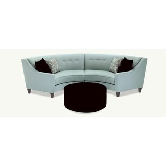 Semi circle couch