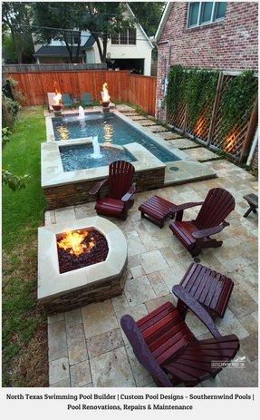 Pool With Hot Tub - Foter