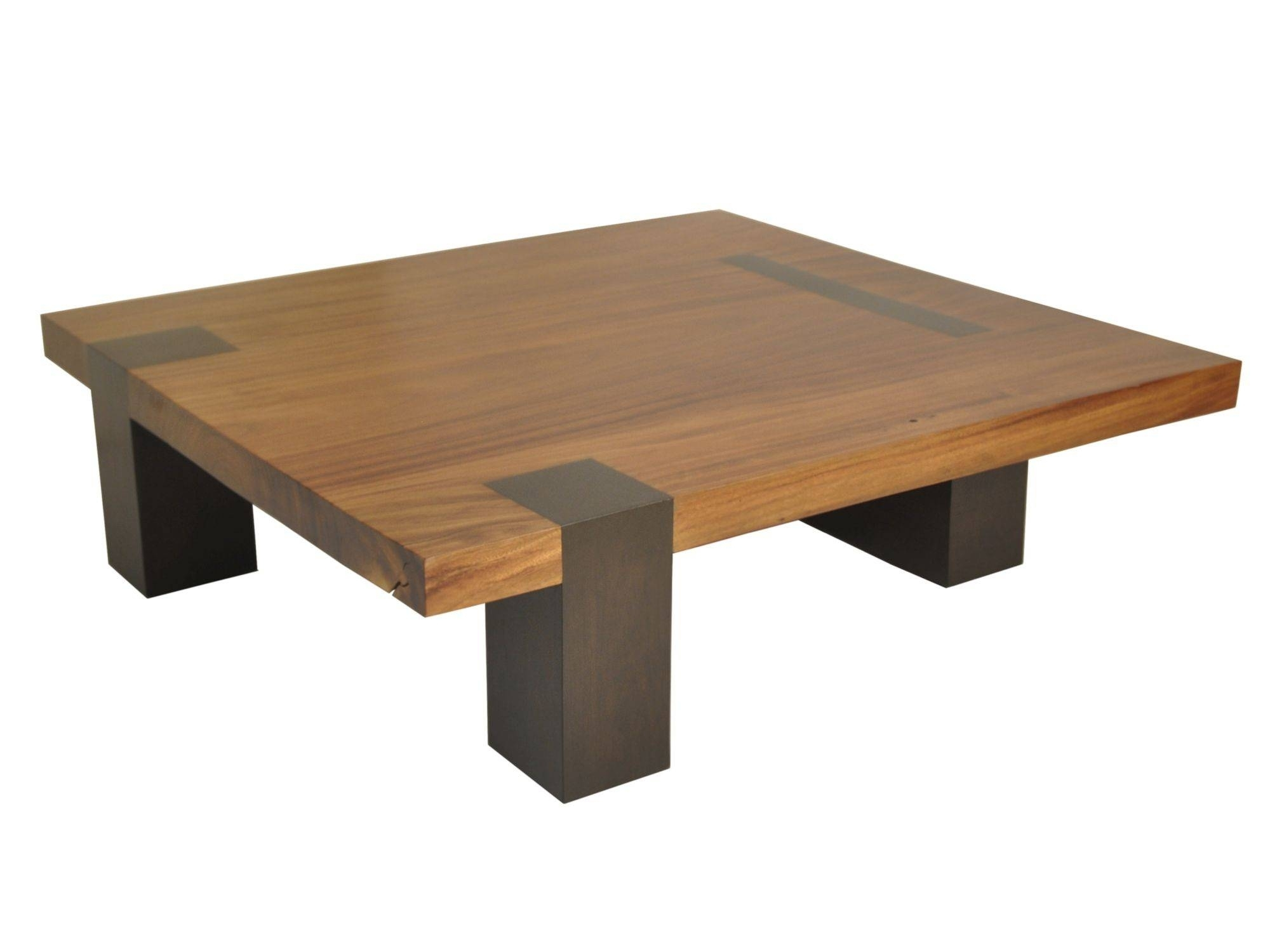 Superieur Square Contemporary Coffee Table 2