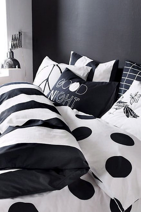 white and black bed sheets. Exellent White Striped Bedding Sets 6 For White And Black Bed Sheets