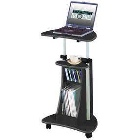 Small Computer Table On Wheels Foter