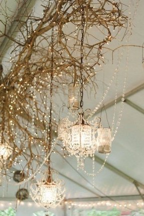 Types of chandeliers 10