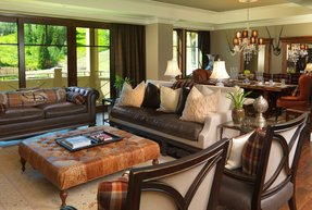 Taupe Leather Sofa Foter