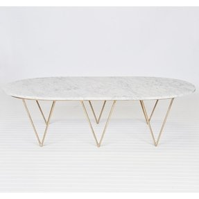White coffee table with storage 2