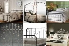 Wrought Iron Twin Headboard Foter