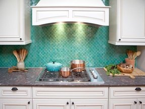 Accent tiles for kitchen 34