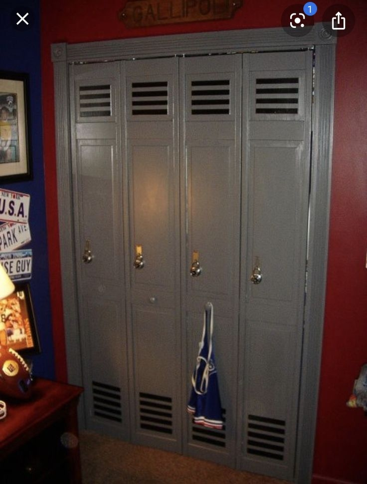 Beau Lockers For Kids Rooms   Ideas On Foter