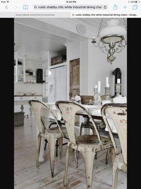 Black Metal Kitchen Chairs