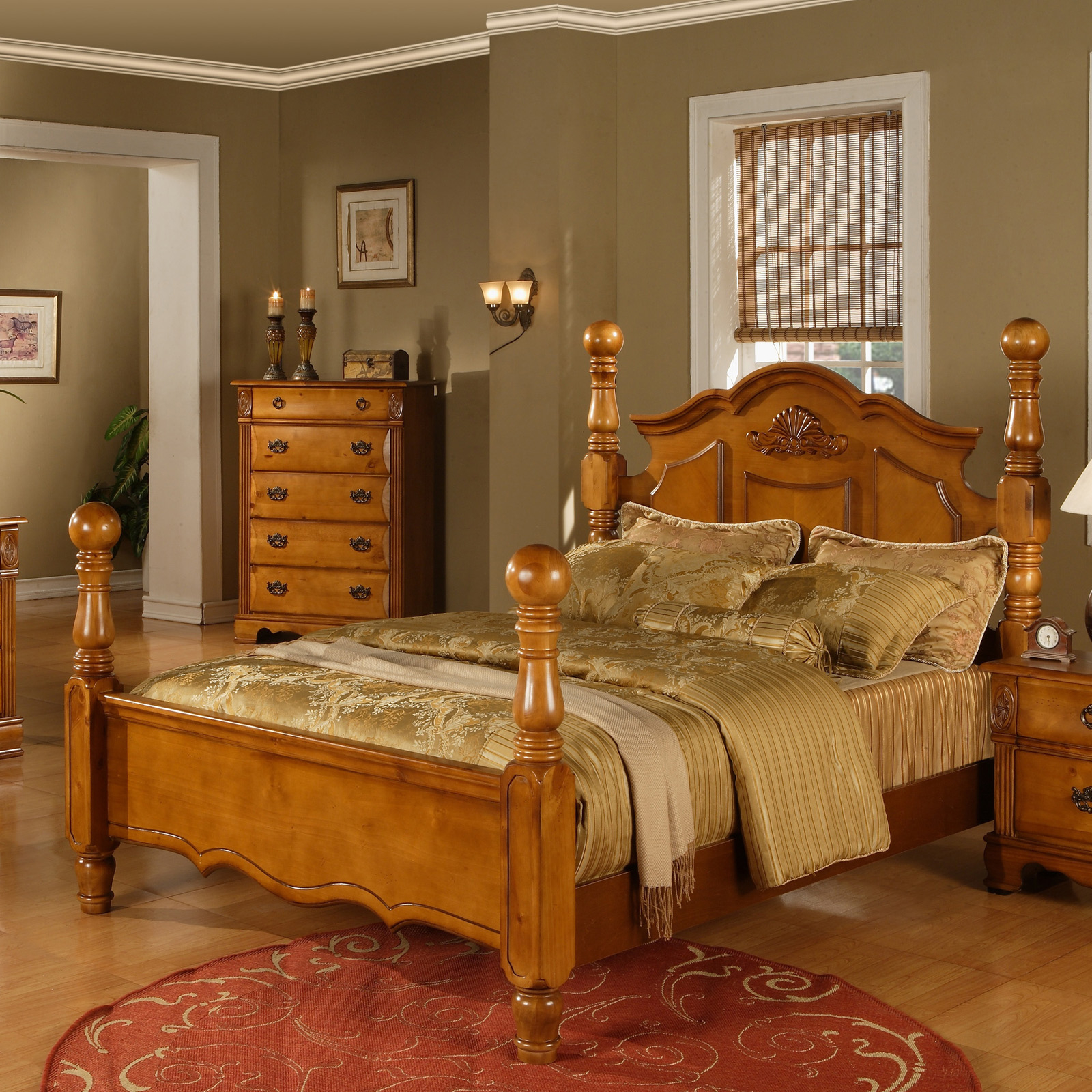 Brighton Four Poster Bedroom Collection