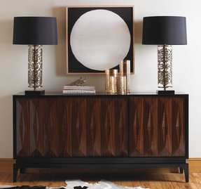 Iron Wood Console Table Foter