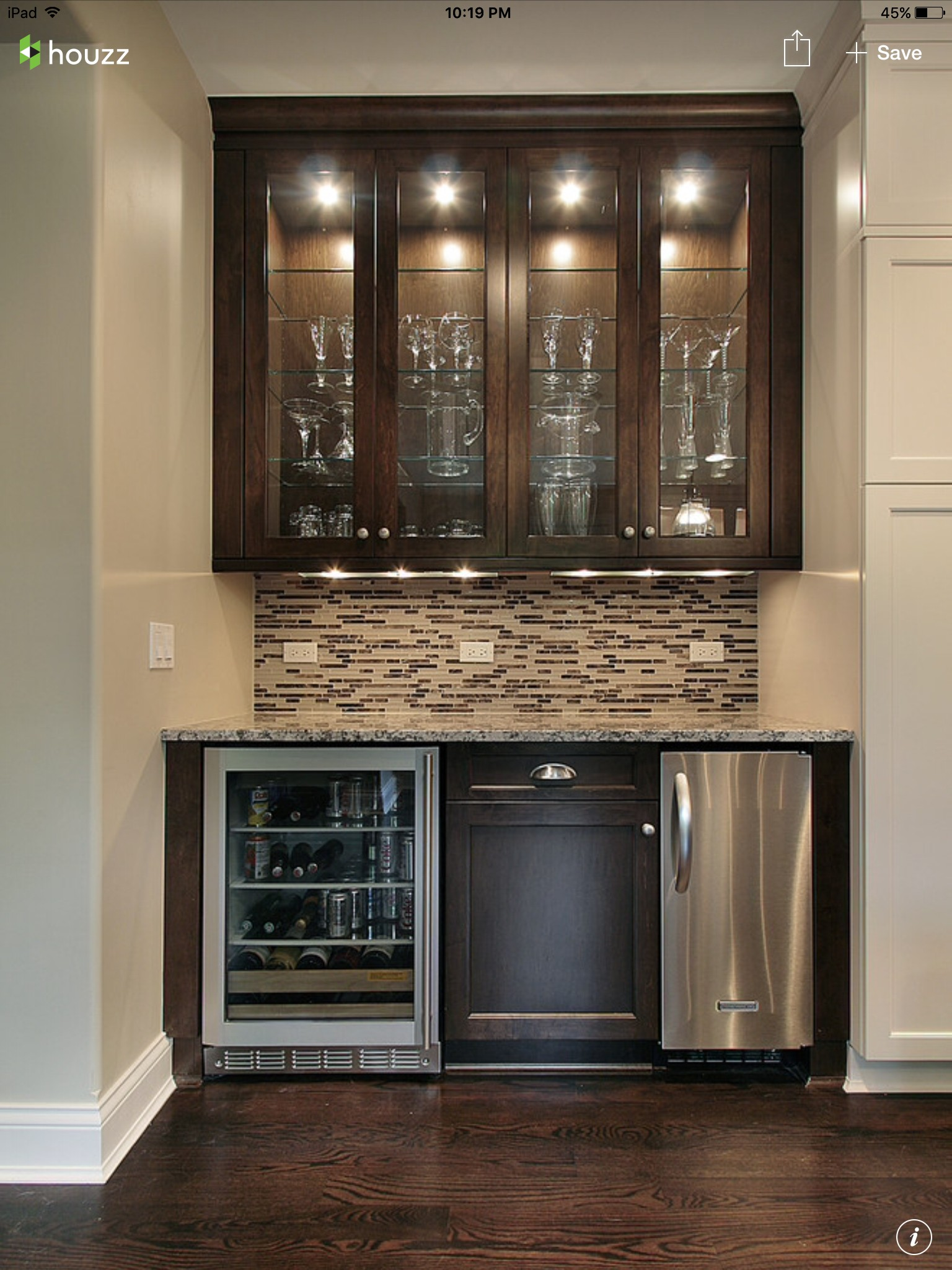 Bar Cabinet With Wine Fridge Ideas On Foter