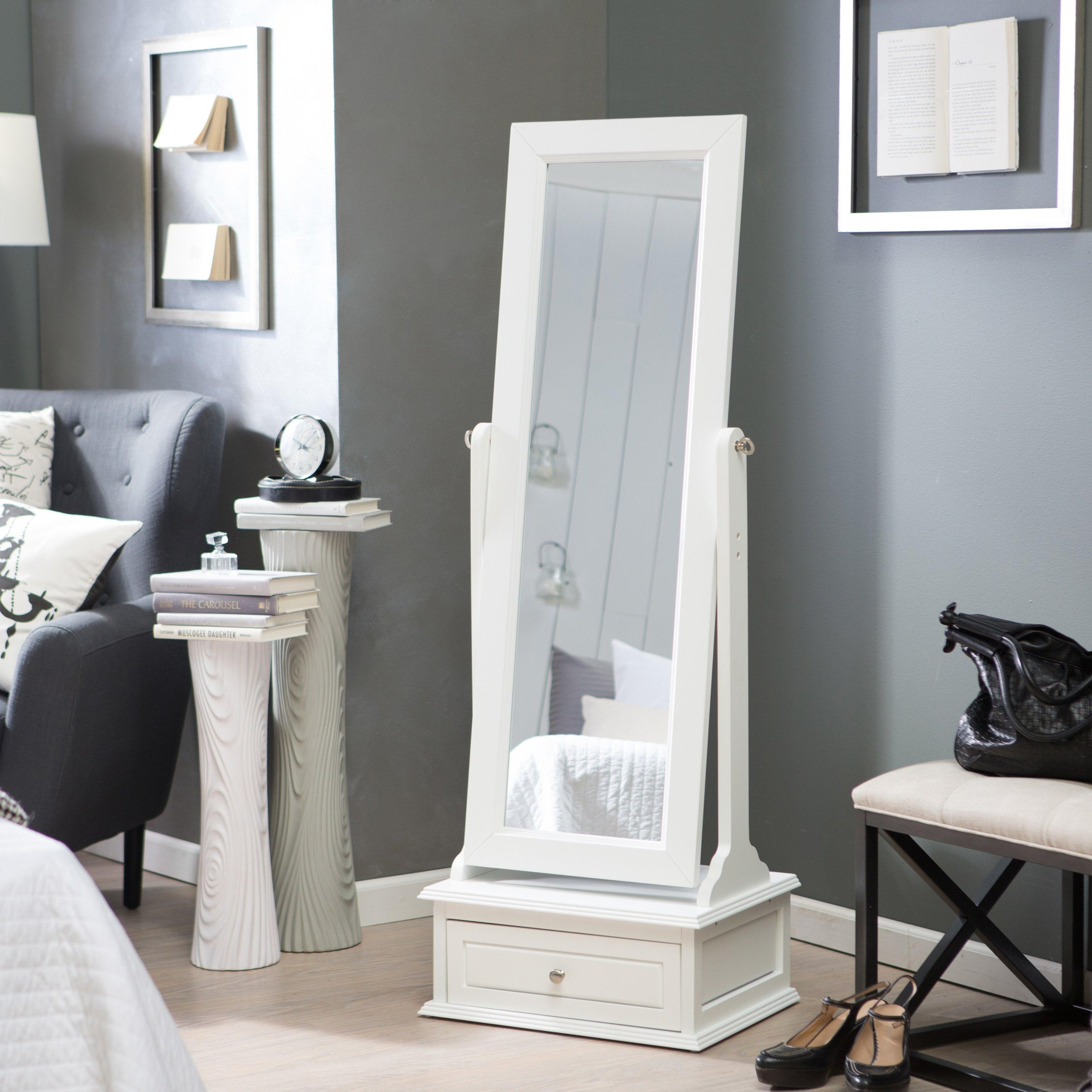 Cheval Mirror This Large Full Length Mirror Is A Free Standing Framed Floor  Mirror With A