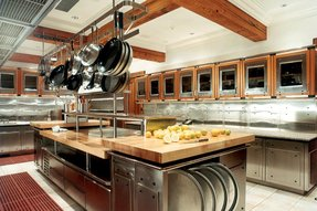Commercial kitchen island 10