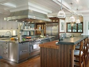 Commercial kitchen island 4