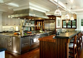 Commercial kitchen island 7