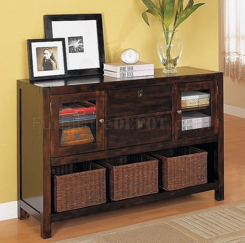 Charmant Sofa Table With Storage Drawers   Ideas On Foter