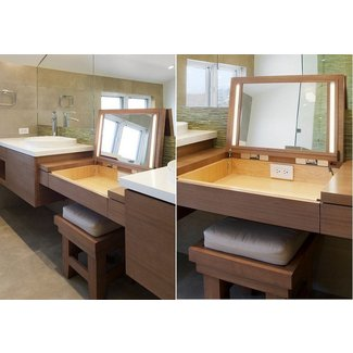 premium selection e754c 270f6 Contemporary Makeup Vanity Table - Ideas on Foter