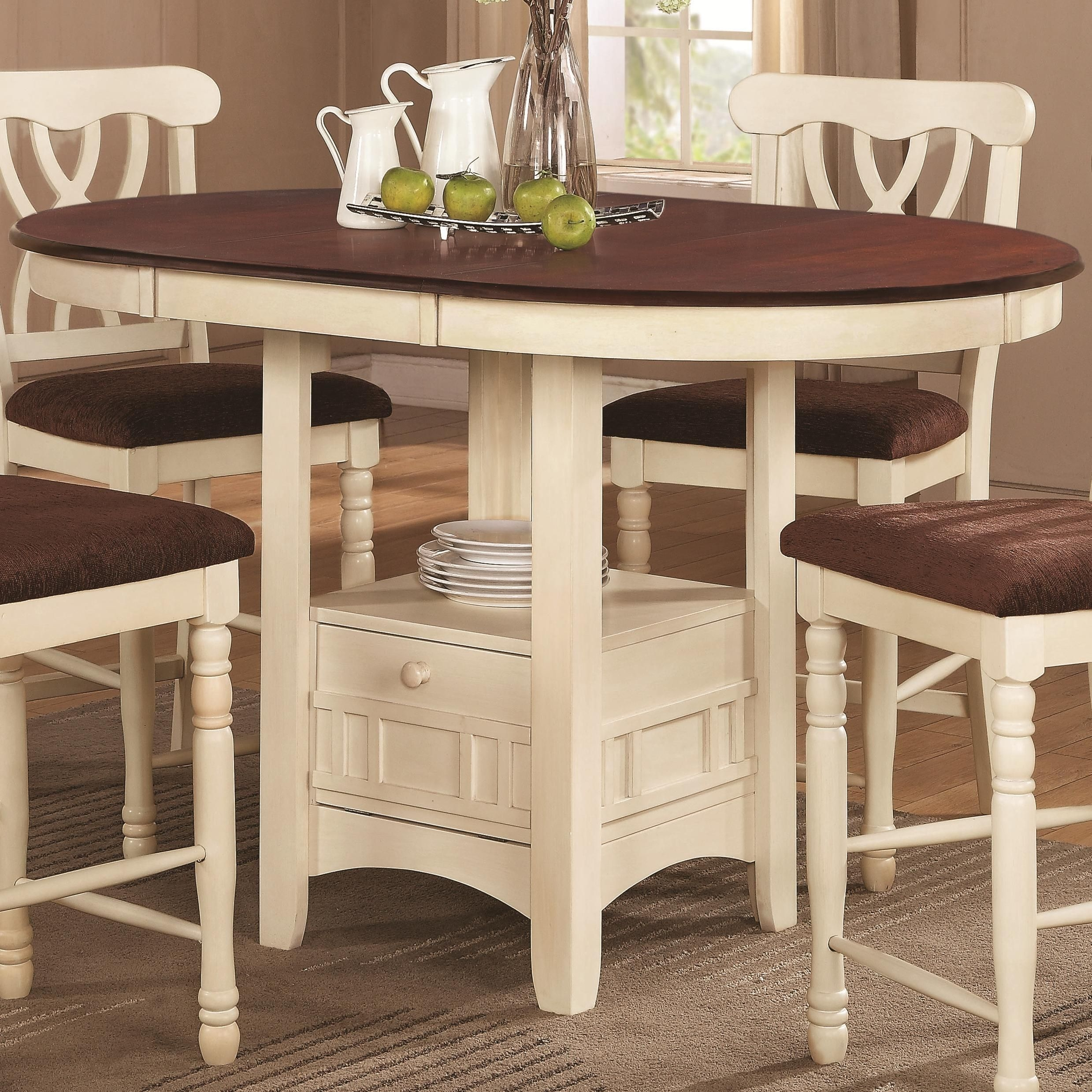 Exceptionnel Crate And Barrel Round Dining Table