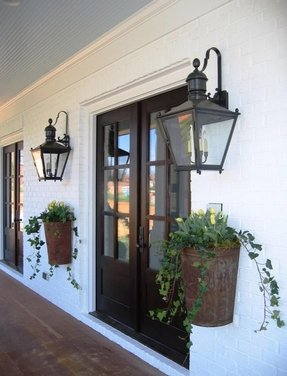 Farmhouse chic eclectic entry charlotte