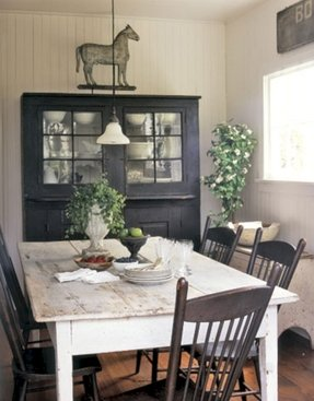 Farmhouse style table and chairs 1